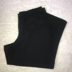 Ashely Stewart Black chino Material pant 16